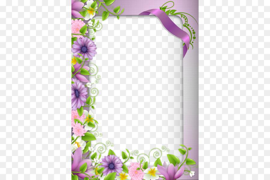 Descarga gratuita de Bordes Y Marcos, Frontera Flores, Flor Imágen de Png