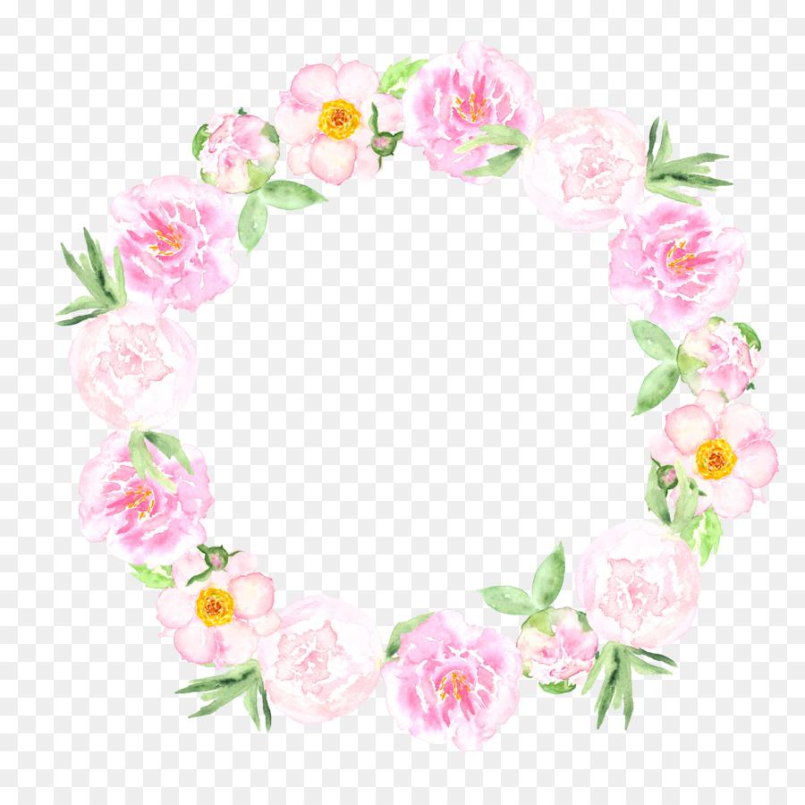 Descarga gratuita de Invitación De La Boda, Acuarela De Flores, Pintura A La Acuarela Imágen de Png