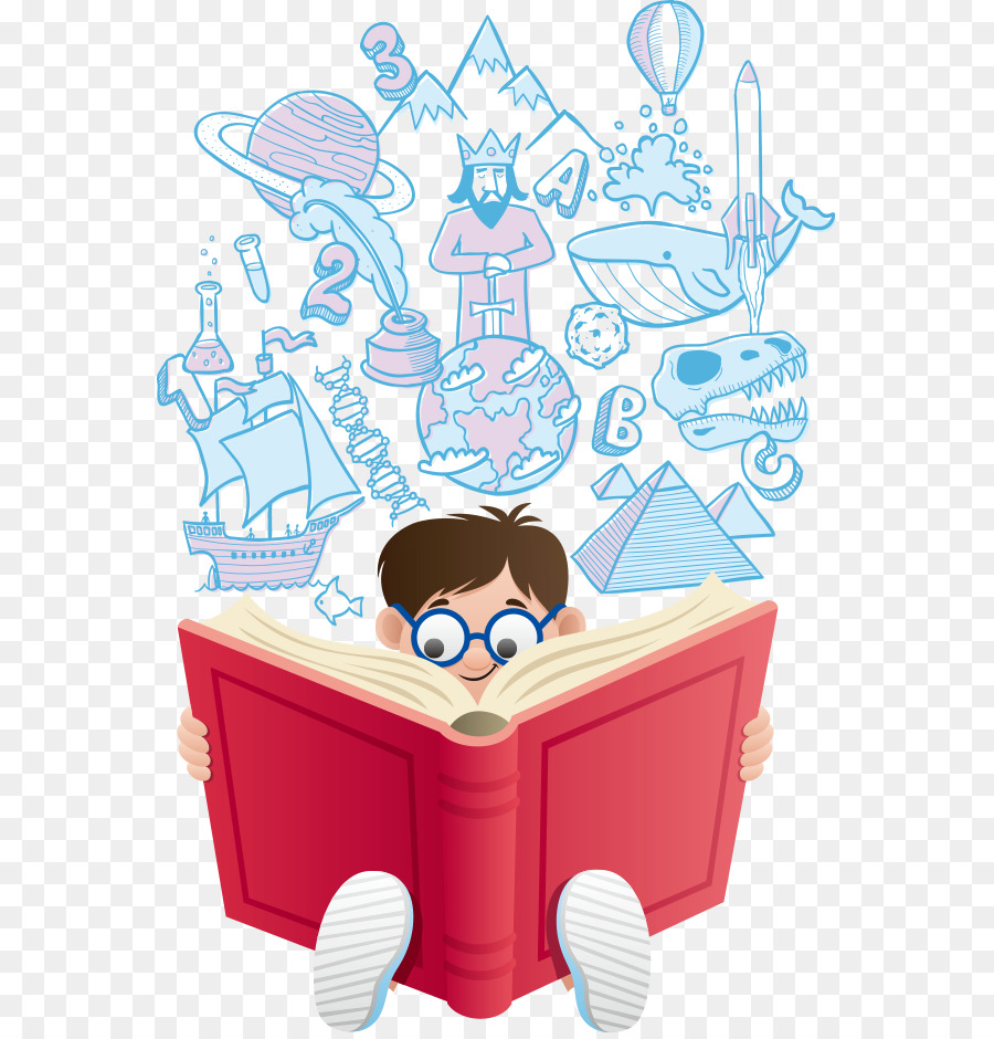 Descarga gratuita de La Lectura, De Dibujos Animados, Libro Imágen de Png