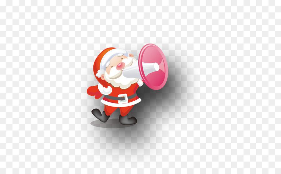 Descarga gratuita de Santa Claus, La Navidad, Altavoz imágenes PNG
