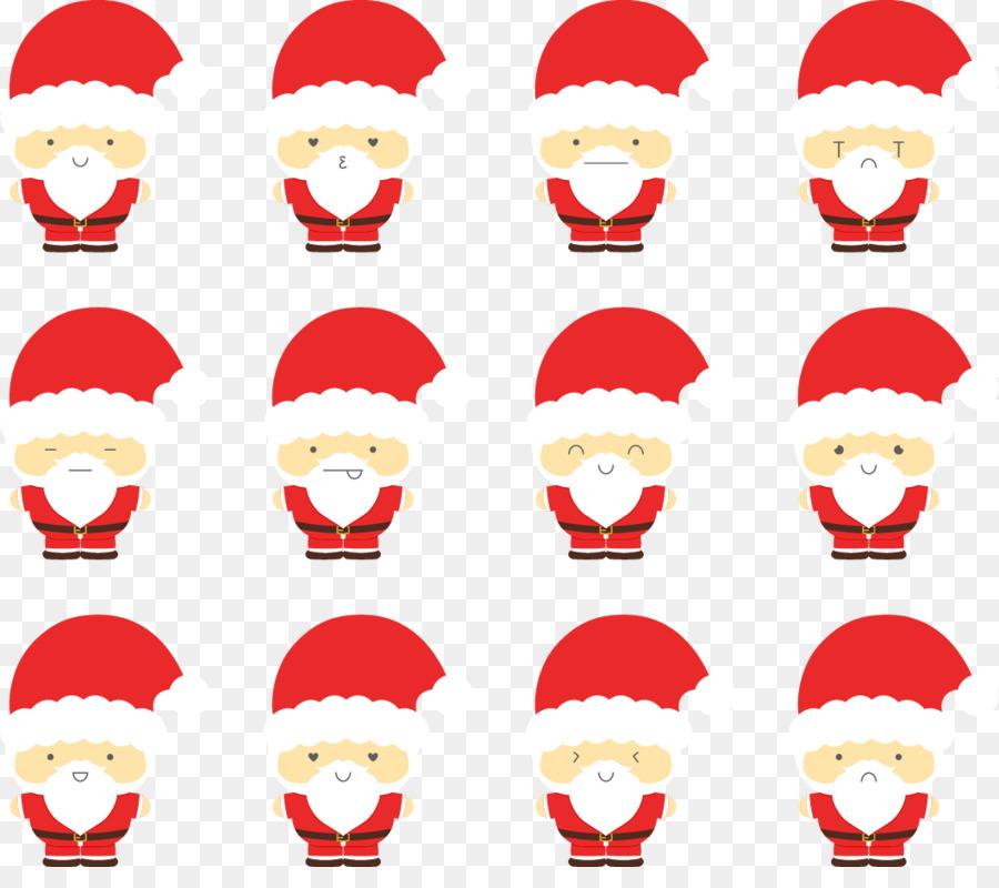 Descarga gratuita de Santa Claus, La Navidad, Etiqueta Engomada De La Imágen de Png