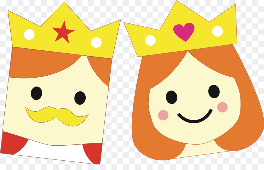 Rey La Reina Regnant De Dibujos Animados Imagen Png Imagen