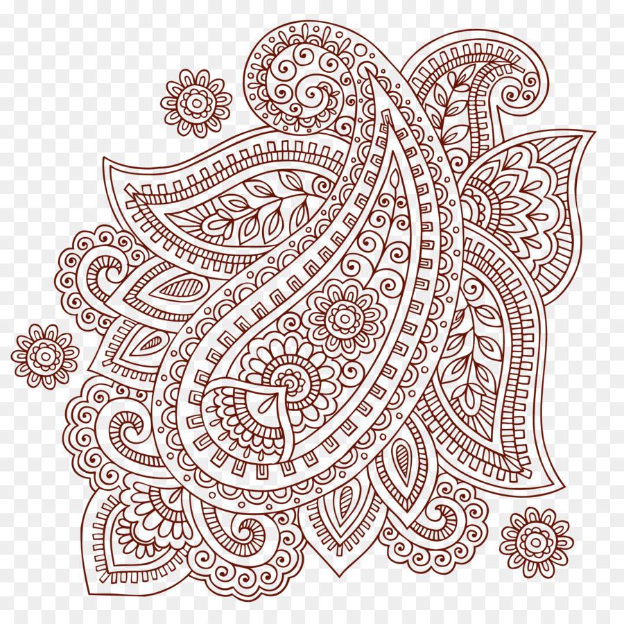 Descarga gratuita de Paisley, Mehndi, Doodle imágenes PNG