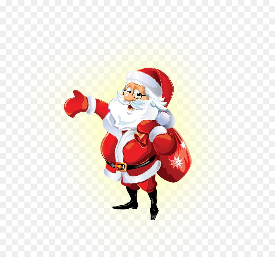 Descarga gratuita de Santa Claus, Rudolph, Reno imágenes PNG