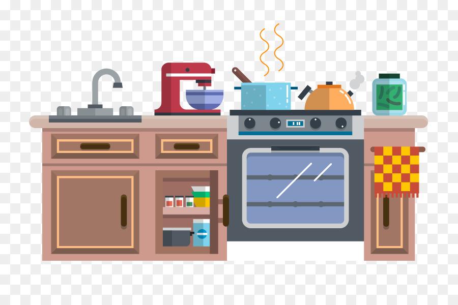 Cocina Animacion De Dibujos Animados Imagen Png Imagen