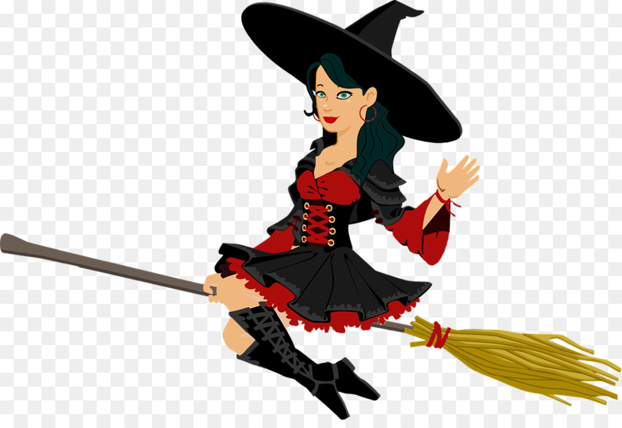 Descarga gratuita de La Brujería, Dibujo, Bruja Voladora Imágen de Png