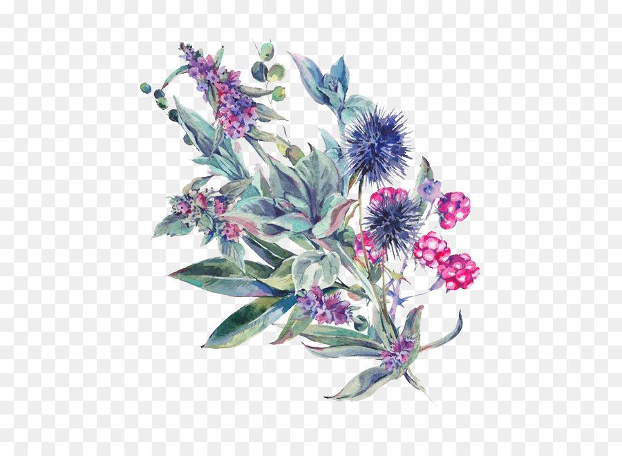 Descarga gratuita de Diseño Floral, Pintura A La Acuarela, Una Fotografía De Stock Imágen de Png