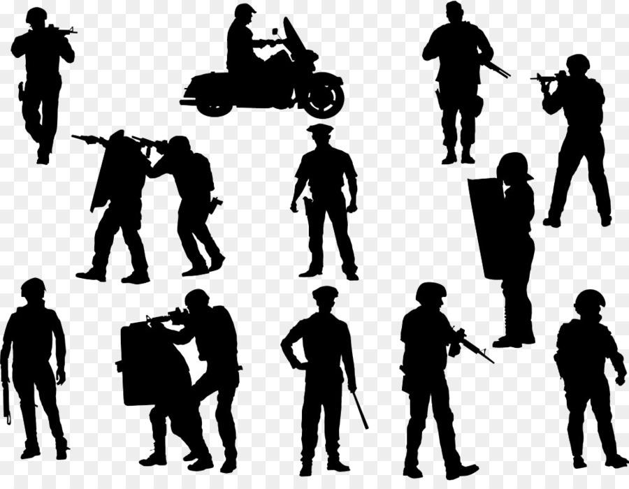 Descarga gratuita de Oficial De Policía, Silueta, La Policía imágenes PNG
