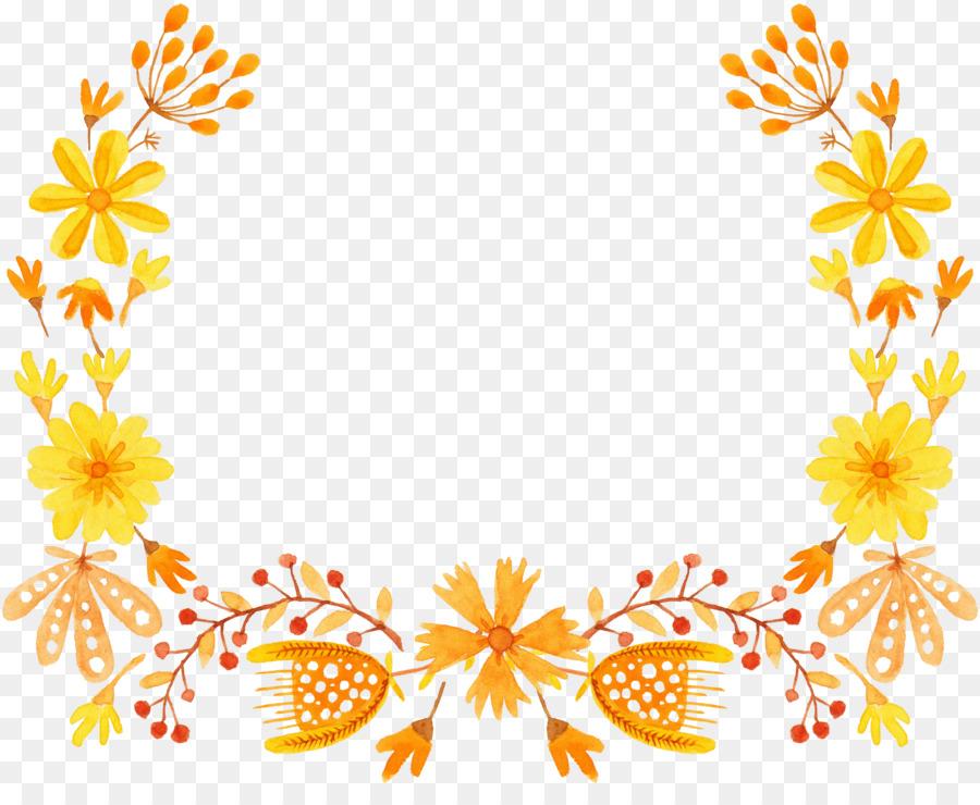 Descarga gratuita de Amarillo, Flor, Semicírculo imágenes PNG