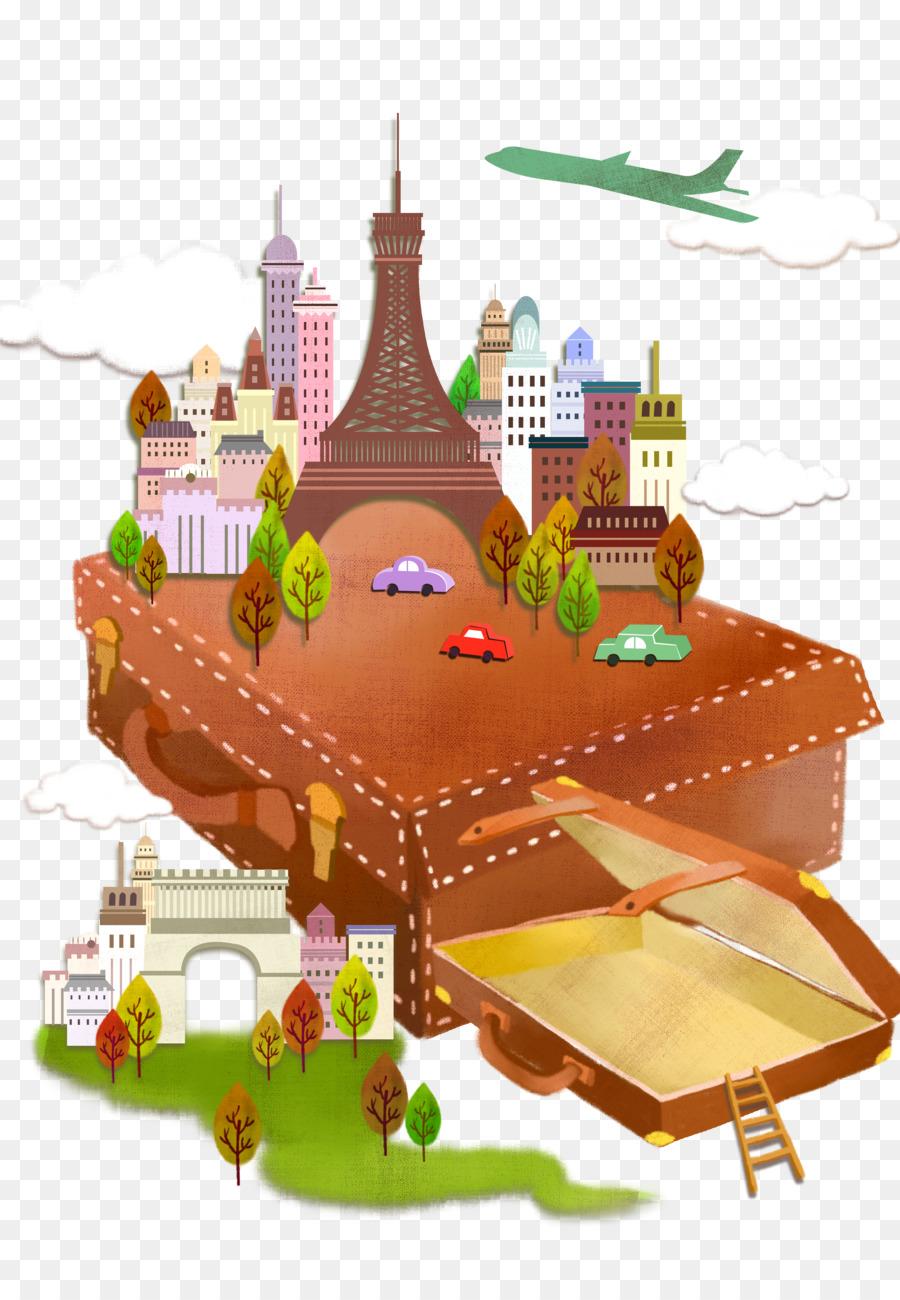 Descarga gratuita de Maleta, Viajes, De Dibujos Animados imágenes PNG