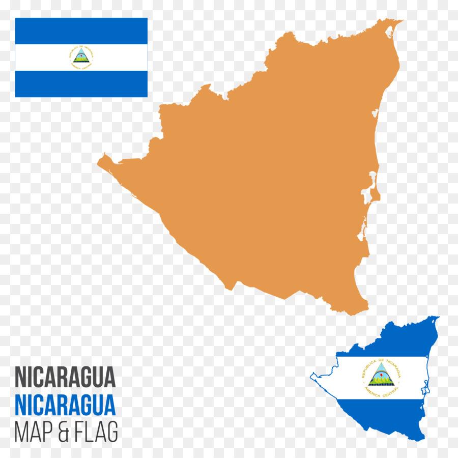 Descarga gratuita de Nicaragua, Mapa, Royaltyfree Imágen de Png