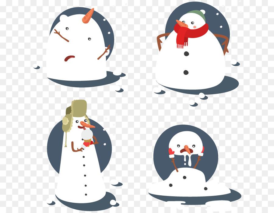 Descarga gratuita de Muñeco De Nieve, La Navidad, Adobe Illustrator imágenes PNG