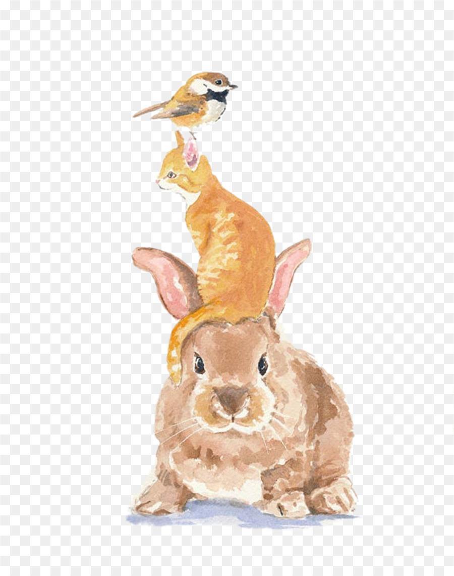 Descarga gratuita de Conejo, Pájaro, Tigre Imágen de Png