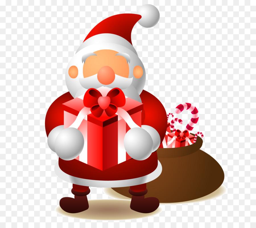 Descarga gratuita de Santa Claus, De Dibujos Animados, La Navidad Imágen de Png