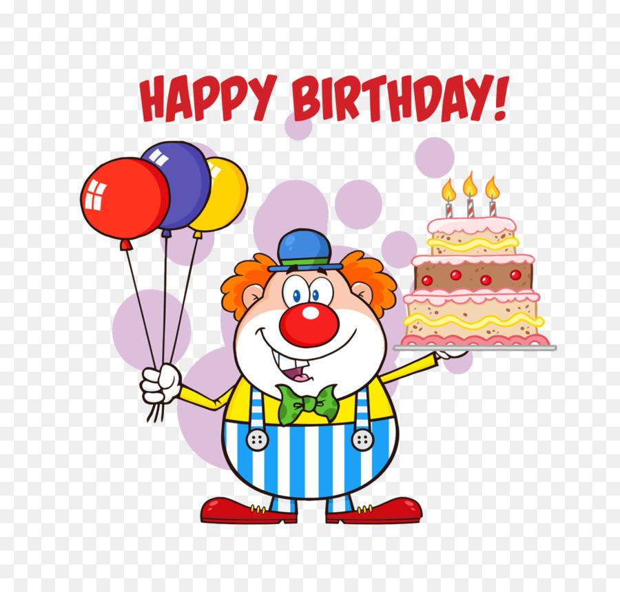 Descarga gratuita de Pastel De Cumpleaños, Payaso, Royaltyfree Imágen de Png