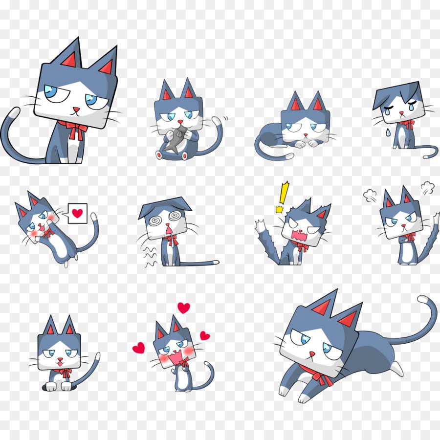 Descarga gratuita de Gato, Gatito, De Dibujos Animados Imágen de Png