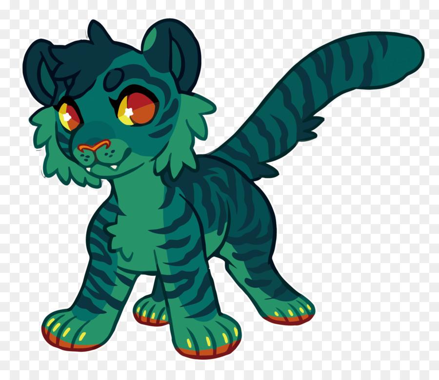Descarga gratuita de Gato, Tigre, Verde Imágen de Png