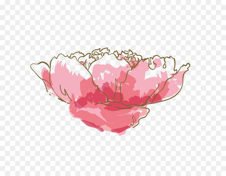 Descarga gratuita de Acuarela De Flores, Pintura A La Acuarela, Rosa imágenes PNG