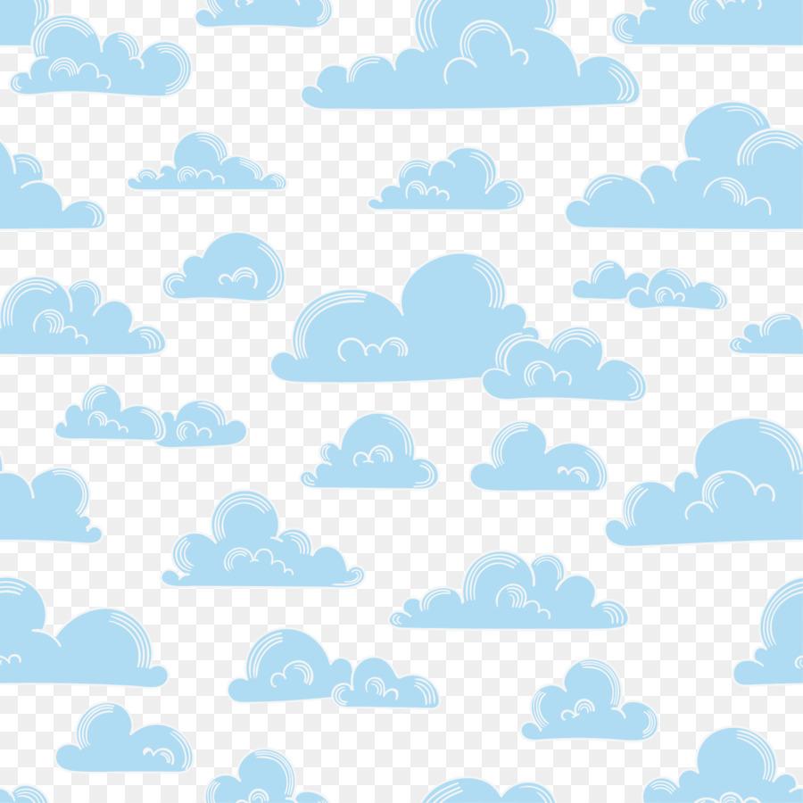 Descarga gratuita de La Nube, Azul, Blanco Imágen de Png