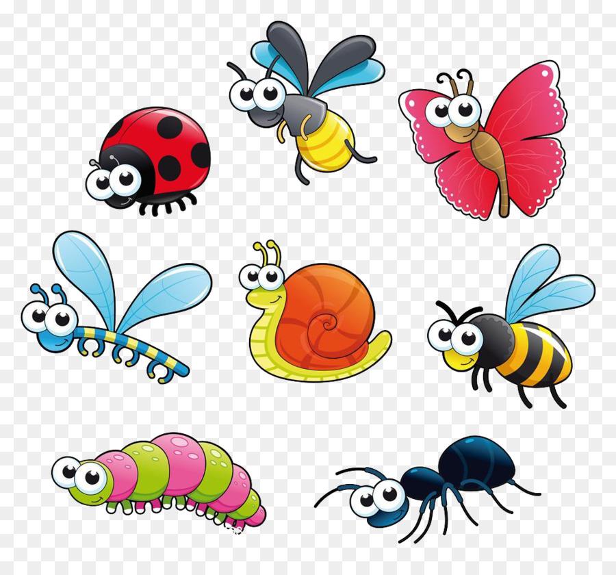 Descarga gratuita de Los Insectos, De Dibujos Animados, Dibujo imágenes PNG