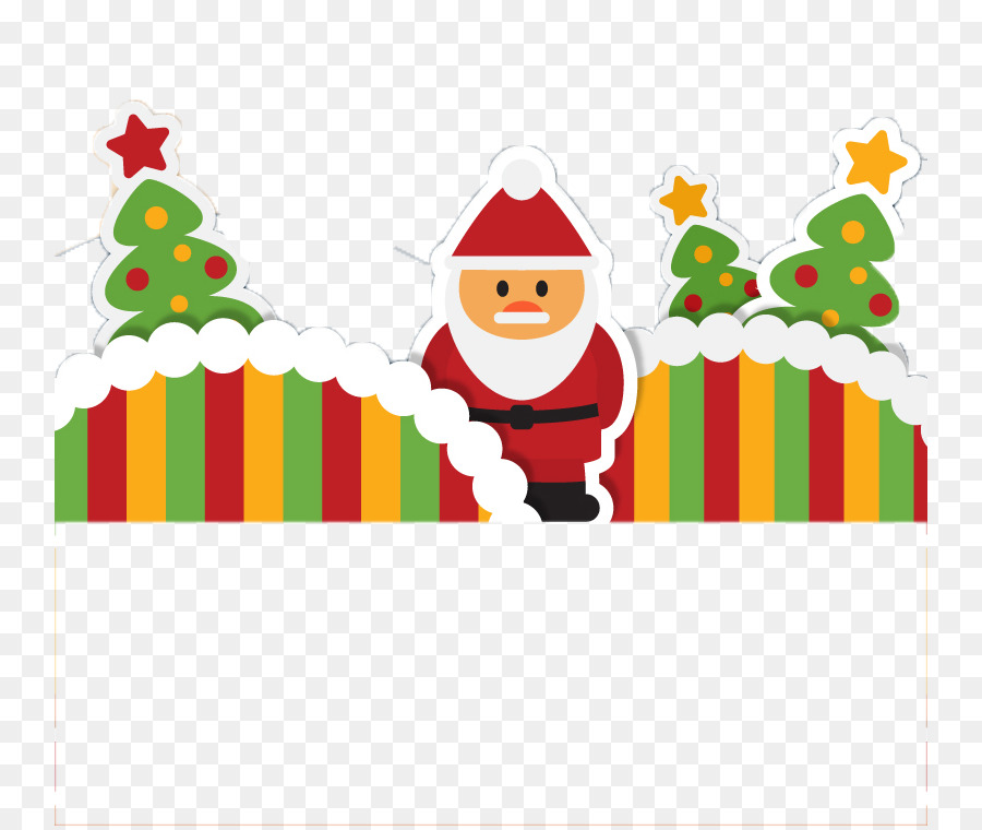 Descarga gratuita de Santa Claus, La Navidad, árbol De Navidad Imágen de Png