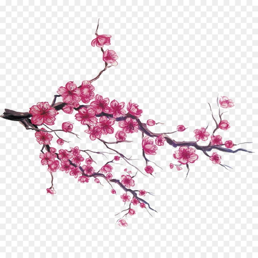Arbol De Cerezo Japones japón, de los cerezos en flor, descargar imagen png - imagen