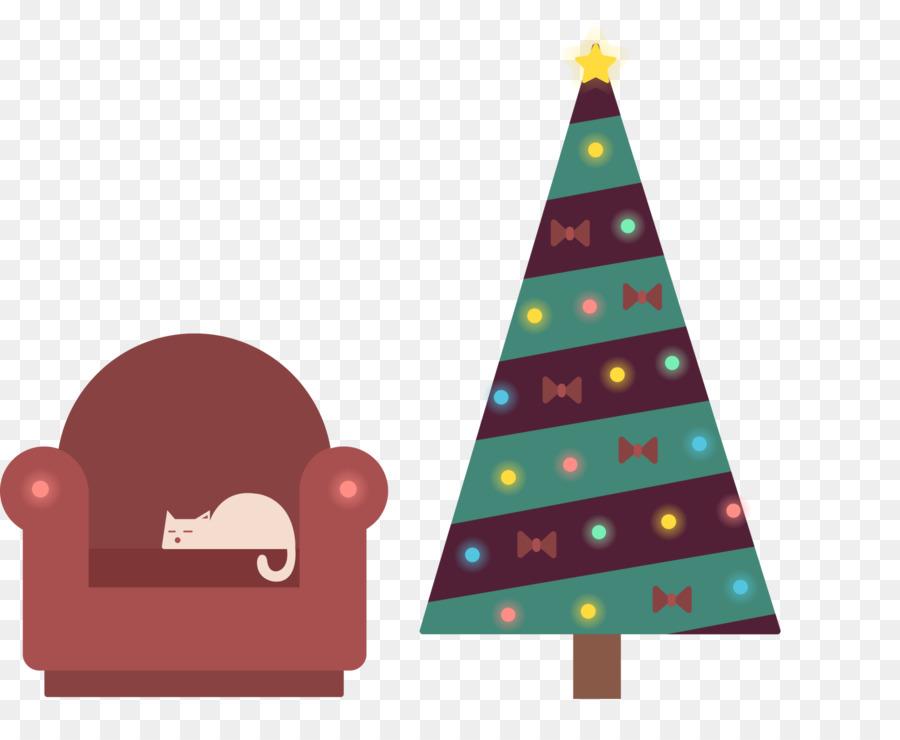 Descarga gratuita de árbol De Navidad, La Navidad, Sala De Dibujo Imágen de Png