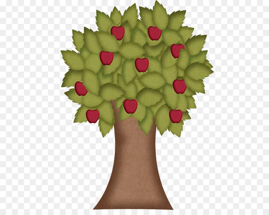 Apple Dibujo De árbol Bonitos Dibujos Animados De Los árboles De