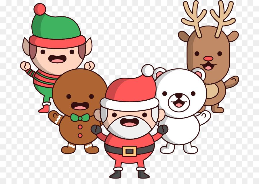 Descarga gratuita de Reno, Santa Claus, La Navidad Imágen de Png