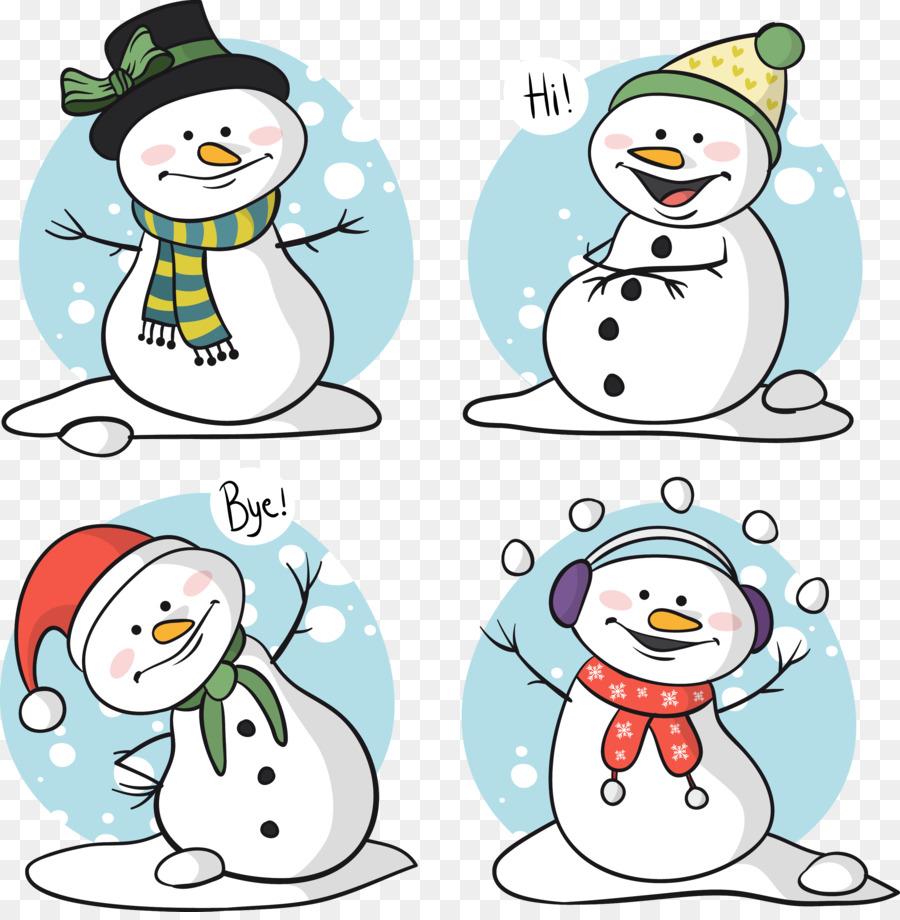 Descarga gratuita de Muñeco De Nieve, La Navidad, Carácter imágenes PNG