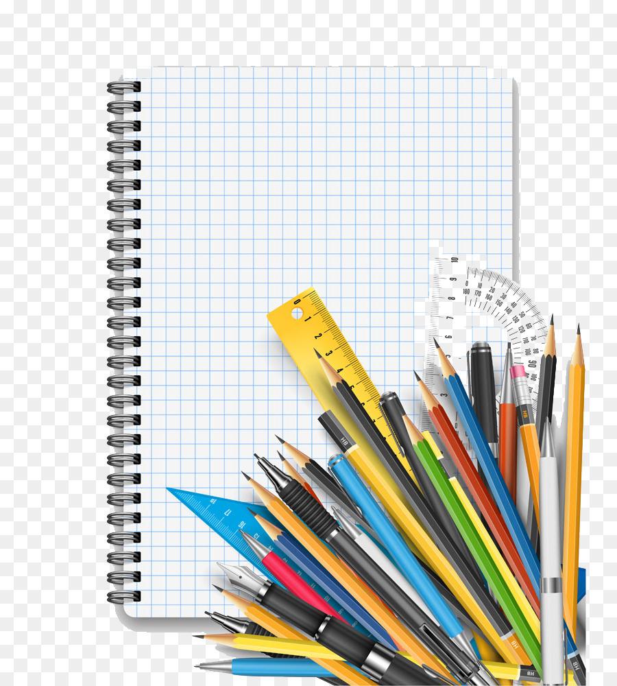 Descarga gratuita de Estudiante, El Aprendizaje, Lápiz De Color Imágen de Png