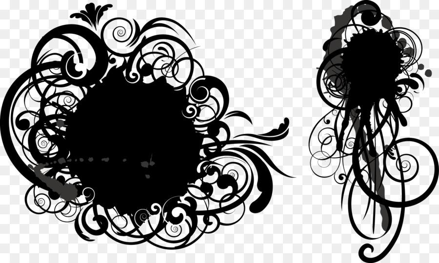 Descarga gratuita de Grunge, Círculo, En Blanco Y Negro Imágen de Png