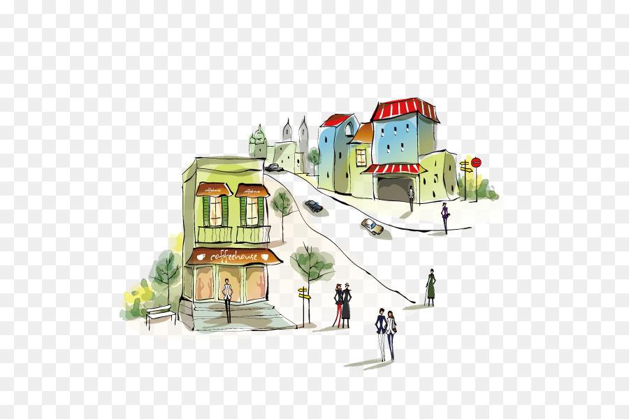 Descarga gratuita de Edificio, La Arquitectura, Dibujo imágenes PNG