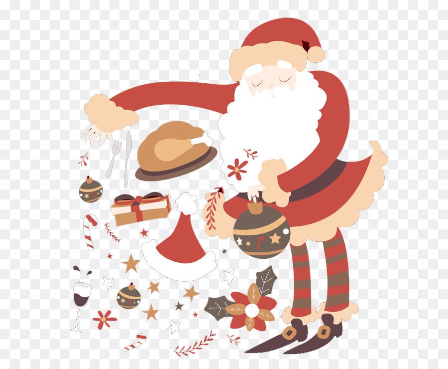 Descarga gratuita de Santa Claus, Adorno De Navidad, Tarjeta De Felicitación Imágen de Png