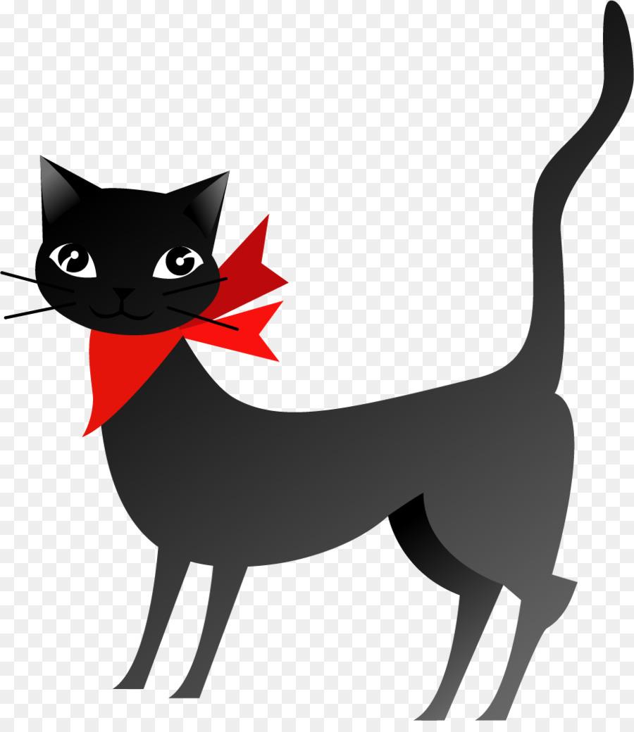 Descarga gratuita de Gato Negro, Gatito, Gato Imágen de Png