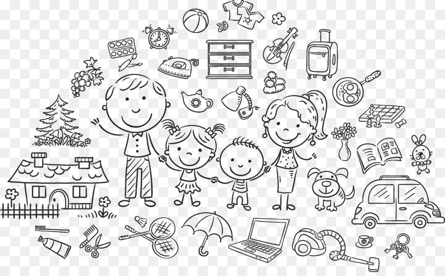 Descarga gratuita de La Familia, Dibujo, Royaltyfree Imágen de Png