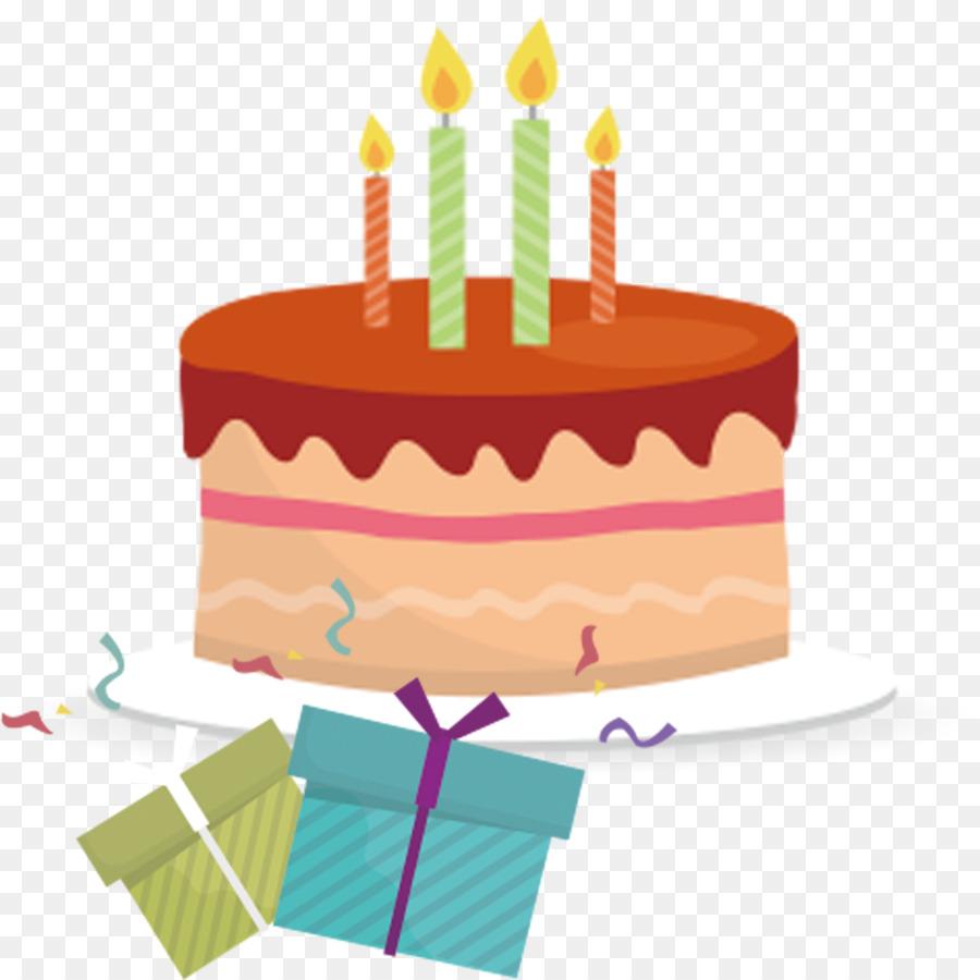 Pastel De Cumpleaños Cumpleaños Euclídea Del Vector Imagen Png