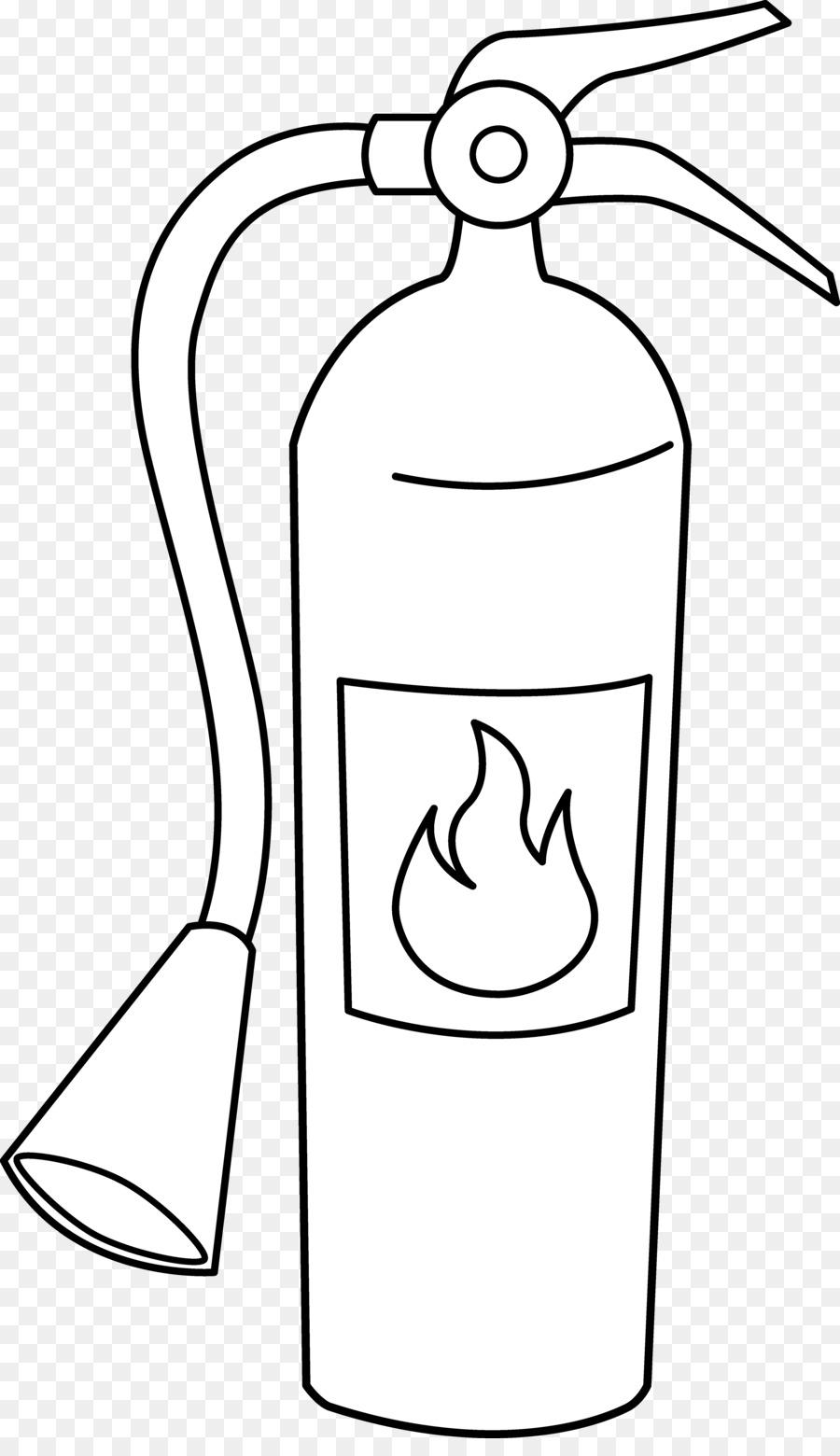 Extintor Animado Para Colorear