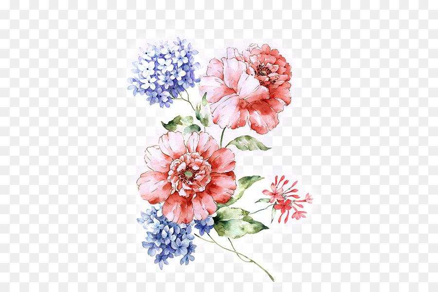 Descarga gratuita de Flor, Diseño Floral, Pintura imágenes PNG