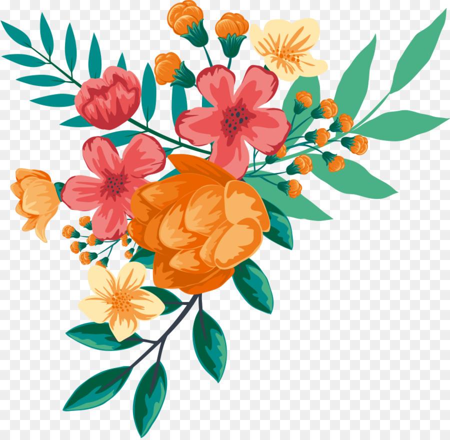 Descarga gratuita de Diseño Floral, Pintura A La Acuarela, Flor imágenes PNG