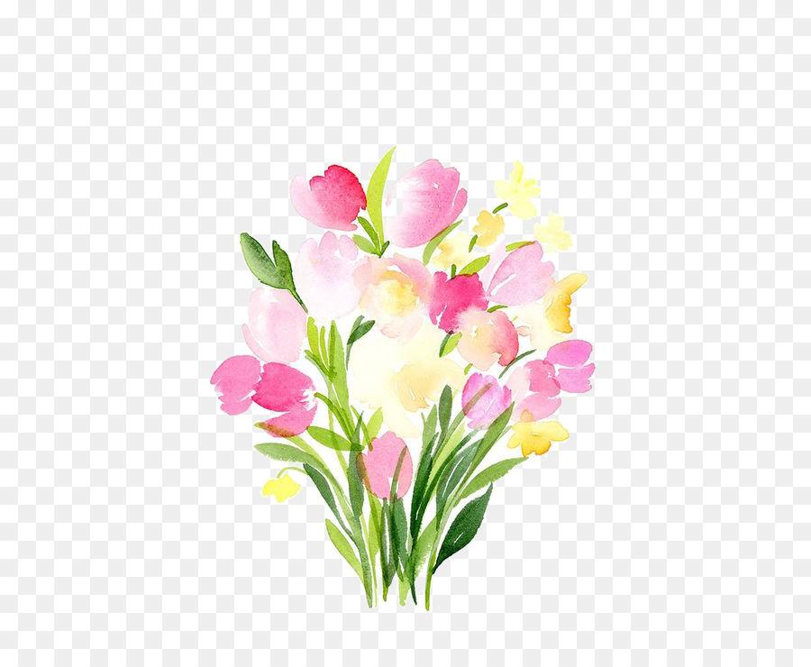 Descarga gratuita de Acuarela De Flores, Pintura A La Acuarela, Pintura Imágen de Png