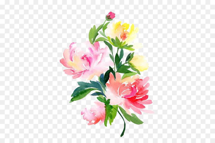 Descarga gratuita de Acuarela De Flores, Pintura A La Acuarela, Flor Imágen de Png