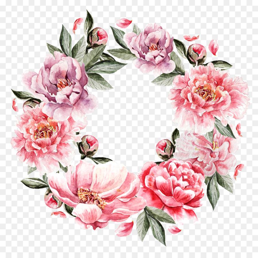 Descarga gratuita de Flor, Pintura, Corona Imágen de Png