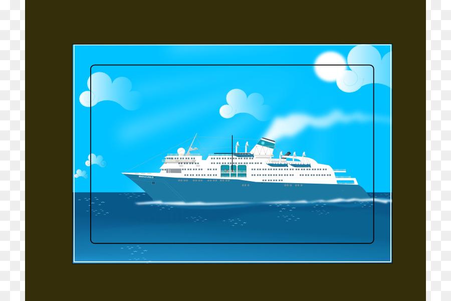 Descarga gratuita de Barco De Crucero, Imágenes Prediseñadas De Transporte, Yate imágenes PNG