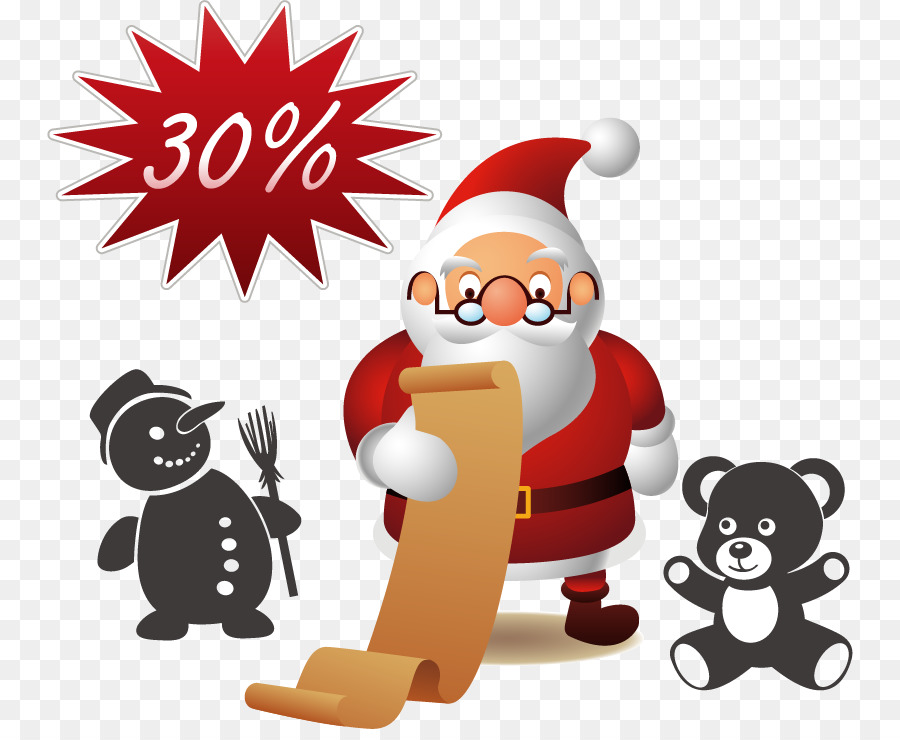Descarga gratuita de Santa Claus, La Navidad, Postscript Encapsulado imágenes PNG