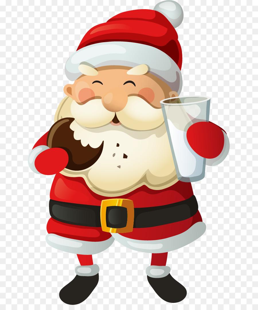Descarga gratuita de Santa Claus, La Navidad, Pastel De Navidad Imágen de Png