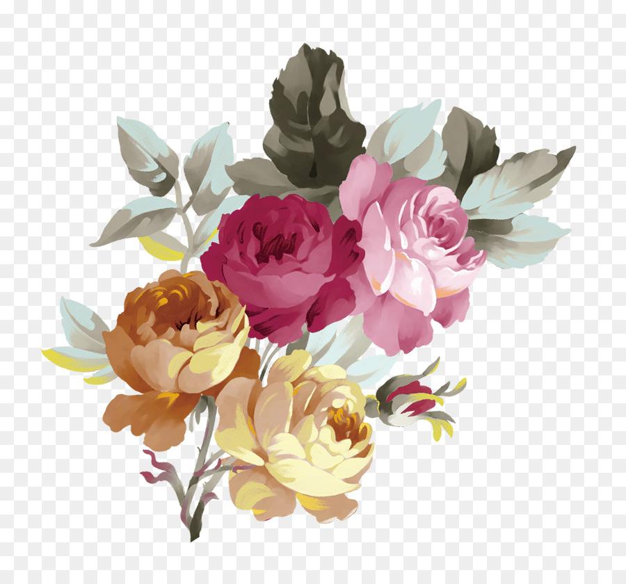 Descarga gratuita de Rosas Centifolia, Flor, Rojo Imágen de Png