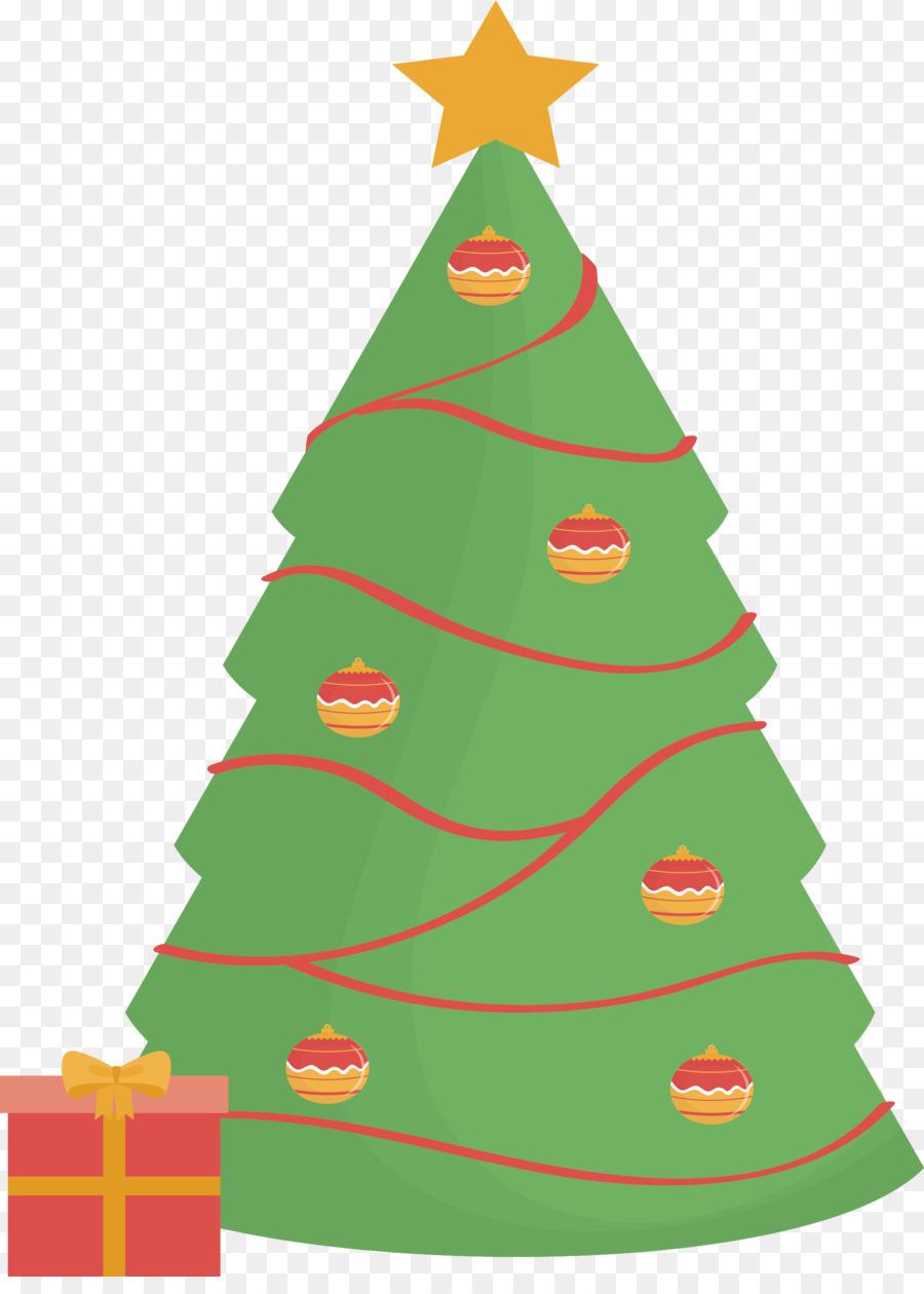 Descarga gratuita de árbol De Navidad, La Navidad, Regalo Imágen de Png