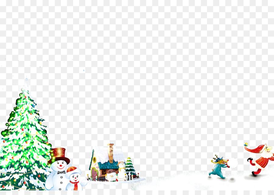 Descarga gratuita de árbol De Navidad, Rudolph, Santa Claus Imágen de Png