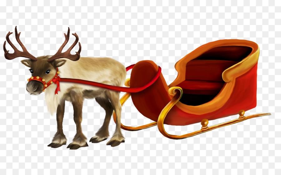 Descarga gratuita de Santa Claus Village, Rudolph, Reno Imágen de Png